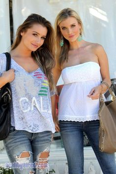 Spotted: Housewives of Miami Star Joanna Krupa and Sister Marta Krupa in LA