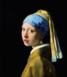 Johannes Vermeer: The Girl with a Pearl Earring, 1665