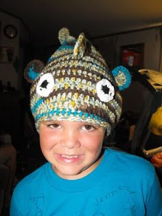 Catrina Crafts A Lot {And Chats A Lot, Too!}: Crochet Fish Hat (Pattern)