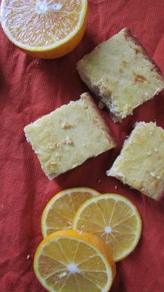 Gluten Free/Paleo Orange Brownies