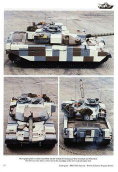 British Chieftain MK10, Berlin Brigade