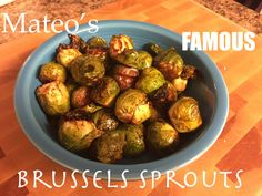Both healthy and delicious!  An easy, 4-step recipe for roasted Brussels Sprouts that everyone in the family will LOVE!