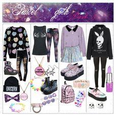 """Pastel goth"" by pastelchild on Polyvore"