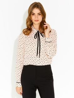 Image for Sophie Contrast Piping Shirt from Portmans