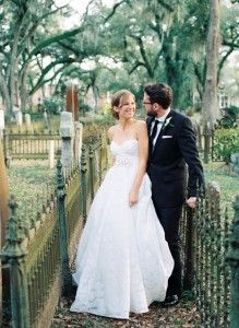 Real bride wearing Watters Mojave Wedding Gown, Style 7092B