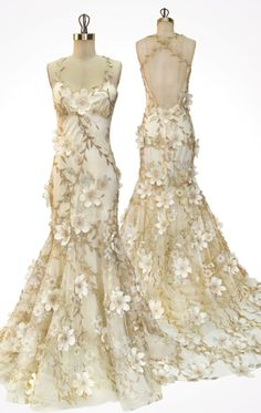 The Poet and the Logician, Flora wedding dress by Claire Pettibone