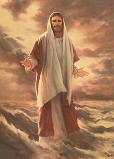 """Fear Not; It is I"" by LDS artist Del Parson"