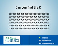 #tremendoustuesday TEST YOUR EYES: Here's a eye test for all our shining silvers, http://www.allaboutseniors.in/  #eyetest #findtheword #allaboutseniors