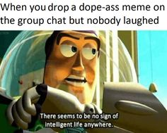 No sign of intelligent life here