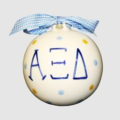 Alpha Xi Delta Ornament