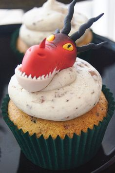 Cupcakes da festa Como Treinar seu Dragão