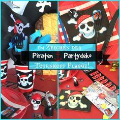 Piraten Party Deko für Kindergeburtstag Piraten | piraten party ...