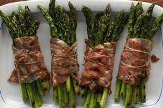 Rachel Ray  Bacon Wrapped Asparagus Bundles