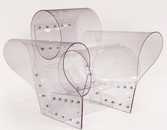 Ron Arad - Well Transparent Chair, 2010 Polycarbonate Edition of 100 Funky Furniture, Unique Furniture, Contemporary Furniture, Contemporary Design, Modern Design, Furniture Design, Furniture Stores, Ron Arad, Texture Sol