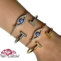 Evil Eye Protection Bracelet Set