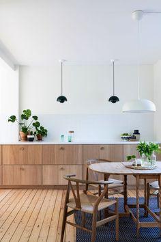 Markedsplassen for interiørdesign Open Plan Kitchen Diner, Rental Kitchen, New Kitchen, Ikea Ekestad, Kitchen Interior, Kitchen Design, Scandinavian Style Home, House Inside, Home Kitchens