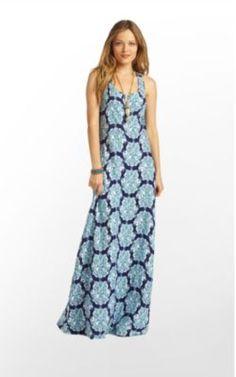 Treena Dress in Bright Navy Hey Sailor $128 (w/o 6/10/12) #lillypulitzer #fashion #style