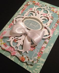 ShabbySweet and Elegant On Your Special by PinkPetalPapercrafts