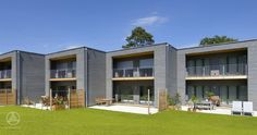 Mehrfamilienhaus aus Holz Mehrfamilienhaus / Reihenhaus Gardet
