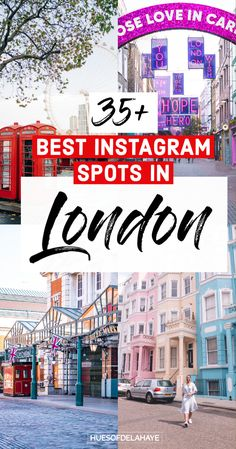 Visit the best Instagrammable places in London for the best London photography! These are the best photo spots in London to level up your IG feed. Plus tips for shooting photos in London