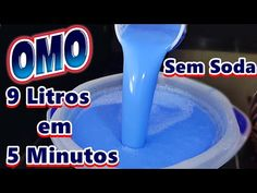 SABÃO OMO EM 5 MINUTOS - YouTube Recipe Girl, Perfume, Coffee Cafe, Organization Hacks, Tricks, Diy And Crafts, Soap, Cleaning, Youtube