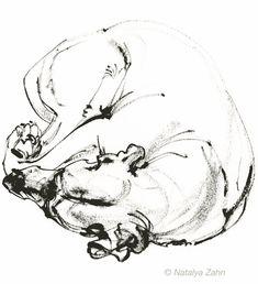 O-INK-Sleeps-1 Baby Room Diy, Rhodesian Ridgeback, Doggies, Pixie, Wolf, Cute Animals, Artsy, Paintings, Ink