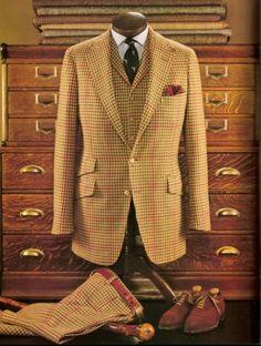 Country gentleman attire