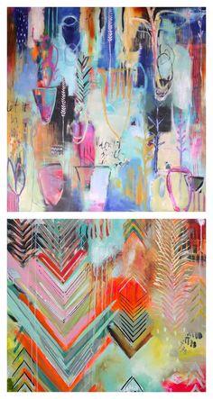 Artist Spotlight: Flora Bowley | Art Makes People Projects For Kids, Art Projects, Flora Bowley, Colorful Paintings, Contemporary Artists, Creative Inspiration, Online Art, Art Inspo, Amazing Art