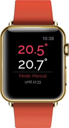 Watchatmo for Apple Watch : control Netatmo Thermosrat from your wrist