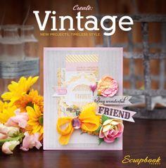 Create: Vintage Idea Book Summer 2013 | Northridge Publishing
