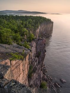 """Palisade Head"" Lake Superior - Tetteguche State Park"