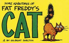 #cat  #kitty #cats #kittens #weed fat freddy's cat ,rip off press vintage comic book
