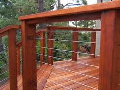 Image result for decking rails and steel