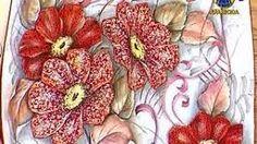 Resultado de imagem para luis moreira pintura em tecido passo a passo