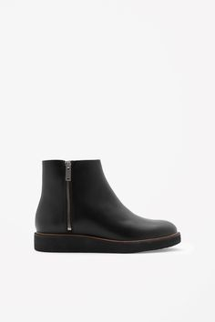 COS | Zip-up chelsea boots