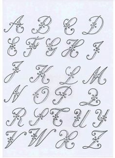Atelier La Providence – Hand embroidery catalog The Effective Pictures We Offer You About Embroidery tattoo A quality picture can … Embroidery Tattoo, Embroidery Alphabet, Embroidery Monogram, Hand Embroidery, Embroidery Designs, Creative Lettering, Lettering Styles, Lettering Design, Hand Lettering Alphabet