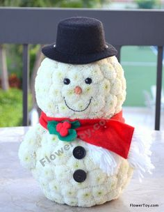 FlowerToy Frosty The Snowman