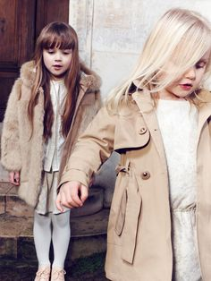 Baby Clothes || Ballet Pink Oxfords || Fur Coat