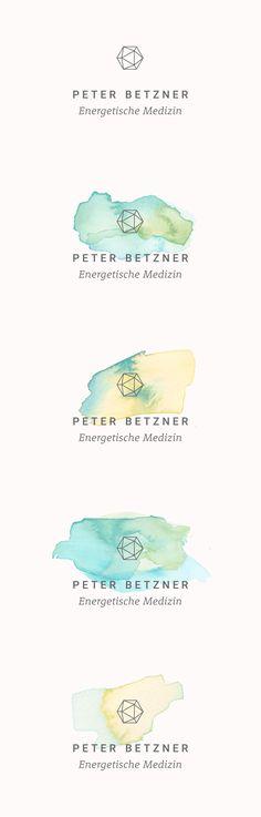 Individuelles Logodesign für den Heilpraktiker Peter Betzner #logo…