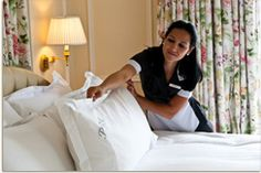 Our repeat guests are treated to a Peninsula signature touch – monogrammed pillowcases.
