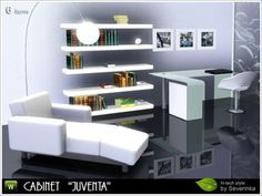 Juventa Cabinet part II High-tech 6 items, furniture and decor set at Sims by Severinka - Social Sims 3 Finds