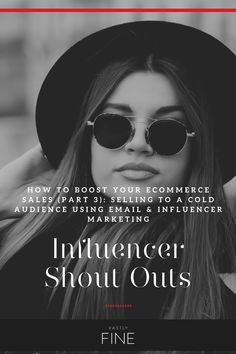 Influencer shout outs can be very lucrative. The best way to do this is choose which influencers you want to work with and provide them with different times throughout the month to do their various shout outs (typically at the beginning and at the end of the month). Just make sure they're pretty structured otherwise you'll run into tracking issues and inefficiency.  You'll find this little hack a great one! Marketing Techniques, Target Audience, Influencer Marketing, Face Wash, Shout Out, Email Marketing, Ecommerce, Ads, Times
