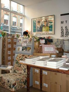 Persephone Books is my favorite bookshop.  I can't wait to go there again
