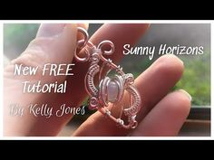 Hello and welcome to my latest tutorial. To make this pendant you will need - Macrame Earrings Tutorial, Earring Tutorial, Macrame Necklace, Wire Earrings, Wire Tutorials, Jewelry Making Tutorials, Jewellery Making, Wire Pendant, Wire Wrapped Pendant