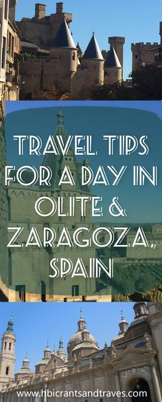 Olite & Zaragoza, Sp