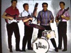 """From """"Twist With the Ventures"""" Bumble Bee Twist (Arr. Wilson-Bogle-Edwards) by The Ventures Don Wilson, Duane Eddy, Bobby Vinton, The Ventures, What Child Is This, Rock Sound, Pop Hits, Christmas Albums, Grave Memorials"""
