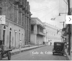 Años 30- Calle de Colón, Hoy Las Damas
