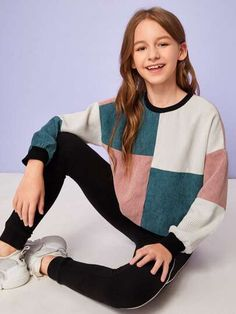 Ropa y Outfits para Chicas | Mejor Precio| SHEIN México Teenage Girl Outfits, Kids Outfits Girls, Cute Girl Outfits, Girls Fashion Clothes, Tween Fashion, Cute Outfits For Kids, Teen Fashion Outfits, Cute Casual Outfits, Celebrity Casual Outfits