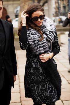 Fotos de street style en Milan Fashion Week: Olivia Palermo