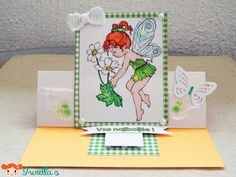 Easel card – first tryout | Iwiella's